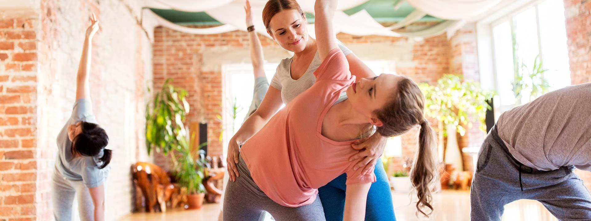 ZENbo® Balance Trainer bei Teilnehmerin